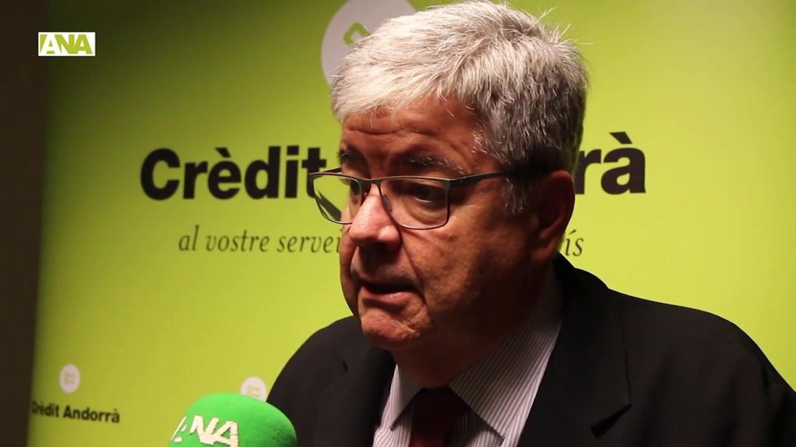 Conferència de Guillem López Casasnovas emmarcada en el cicle 'Crèdit Andorrà Global Forum'