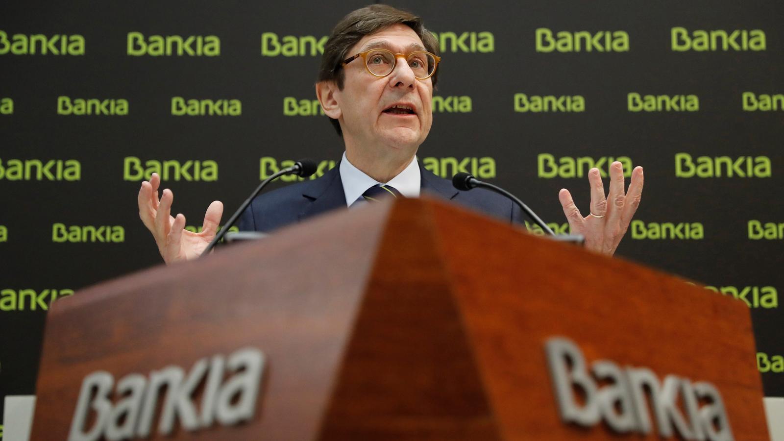 El president de Bankia, José Ignacio Goirigolzarri.