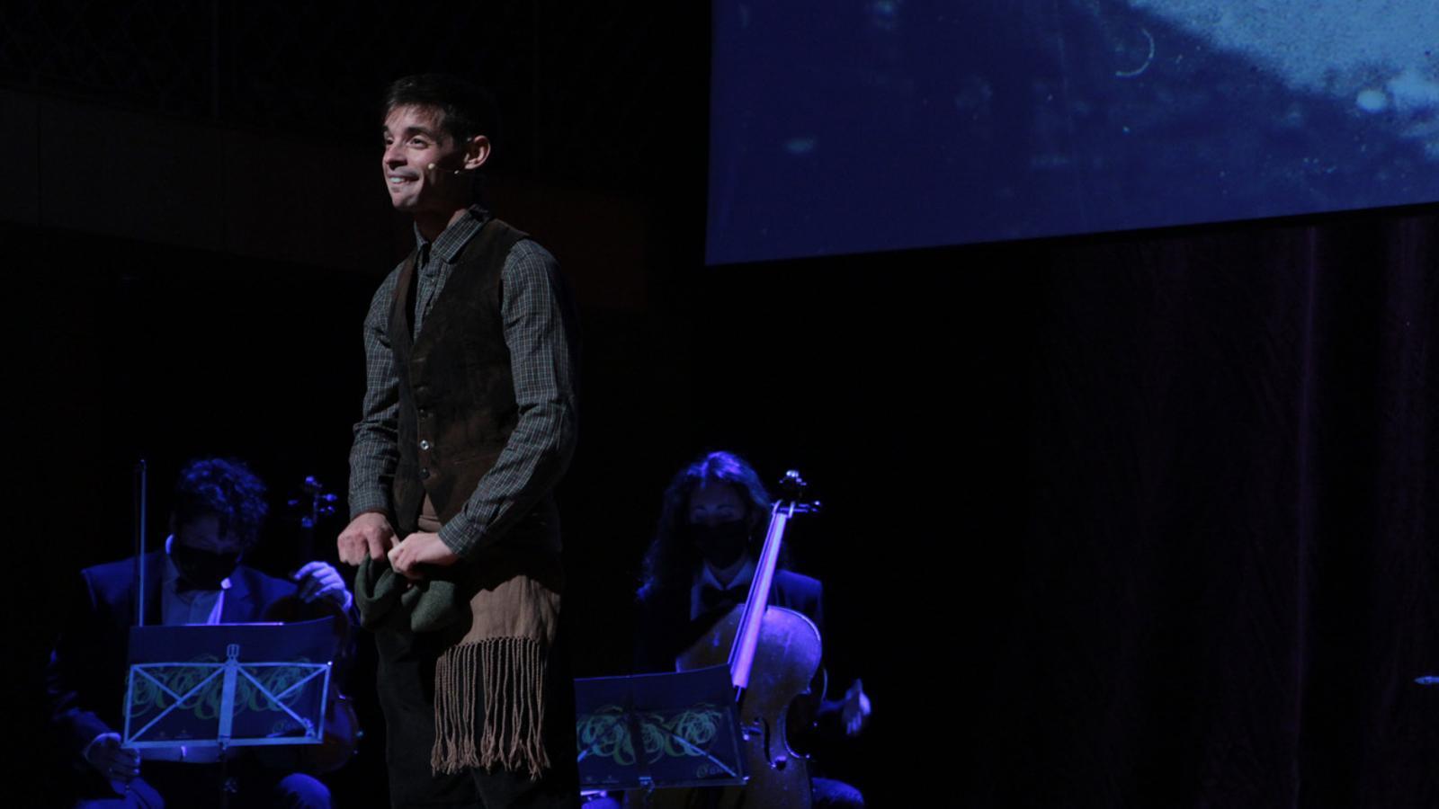 Un moment de la primera actuació de l'Ordino Clàssic, 'Música per a la memòria'. / M. P. (ANA)