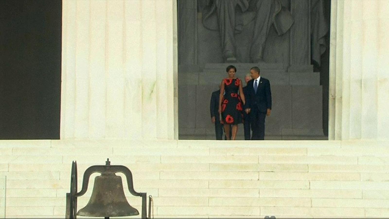 Barack Obama commemora el 50 aniversari de 'I have a dream' de Luther King