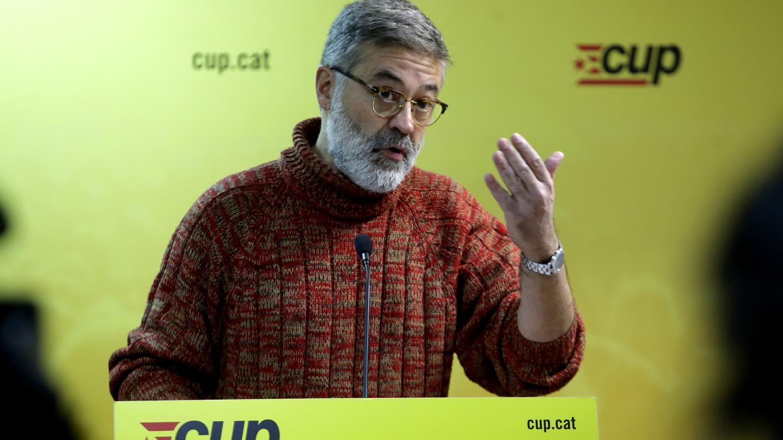 La CUP exigeix a Torra el cessament immediat de Buch i de tots els comandaments dels Mossos