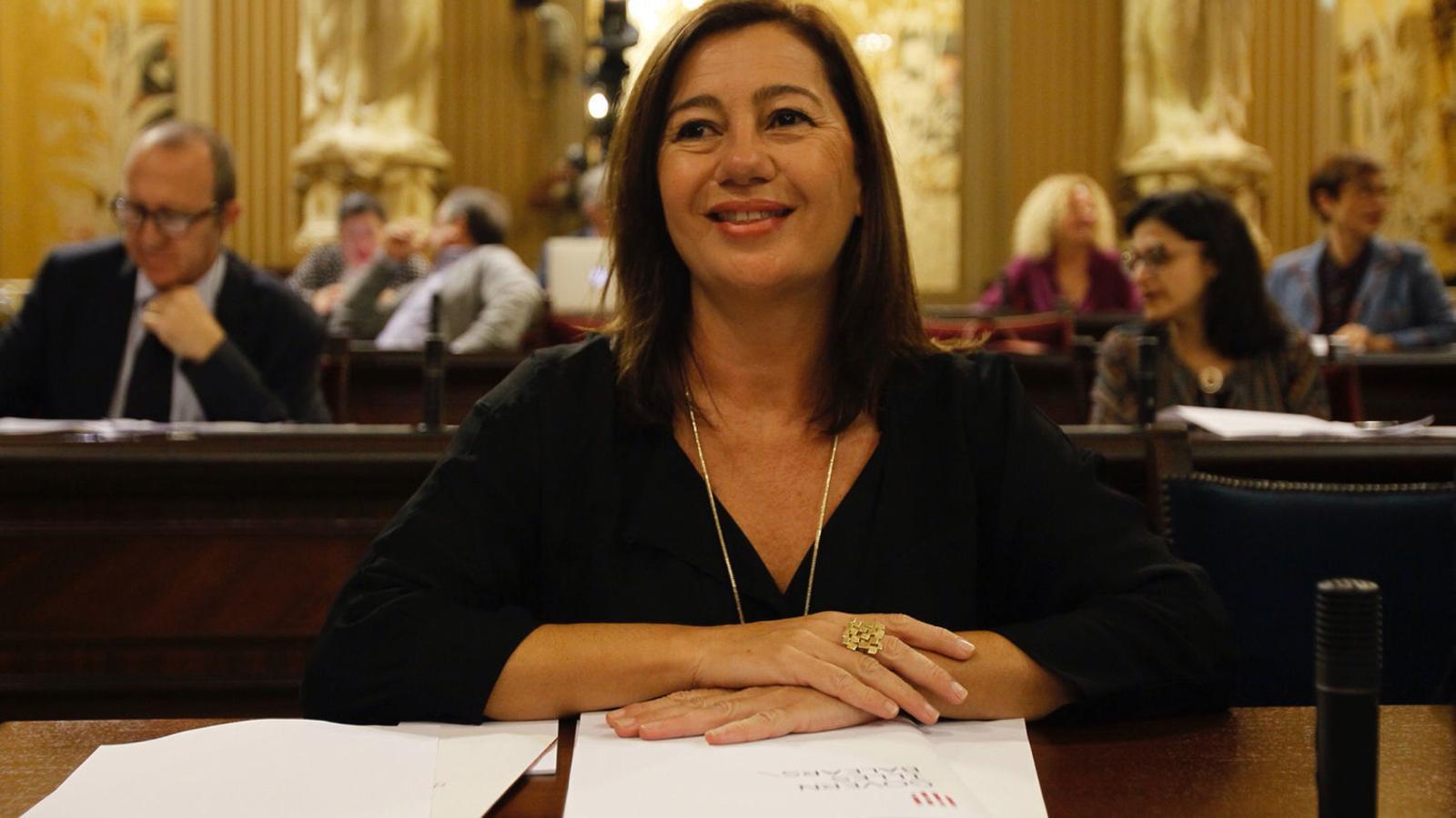Francina Armengol és la més valorada amb un 4,6
