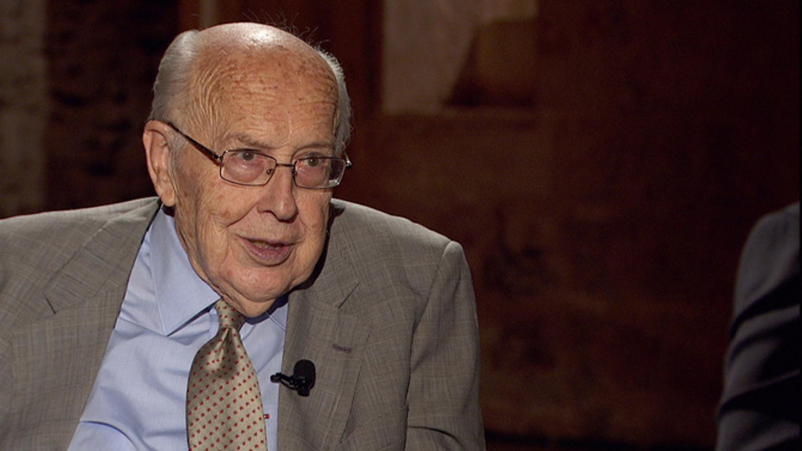 L'historiador Jordi Nadal al programa (S)avis de TV3