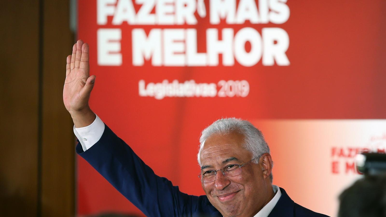 Els portuguesos fan confiança a António Costa