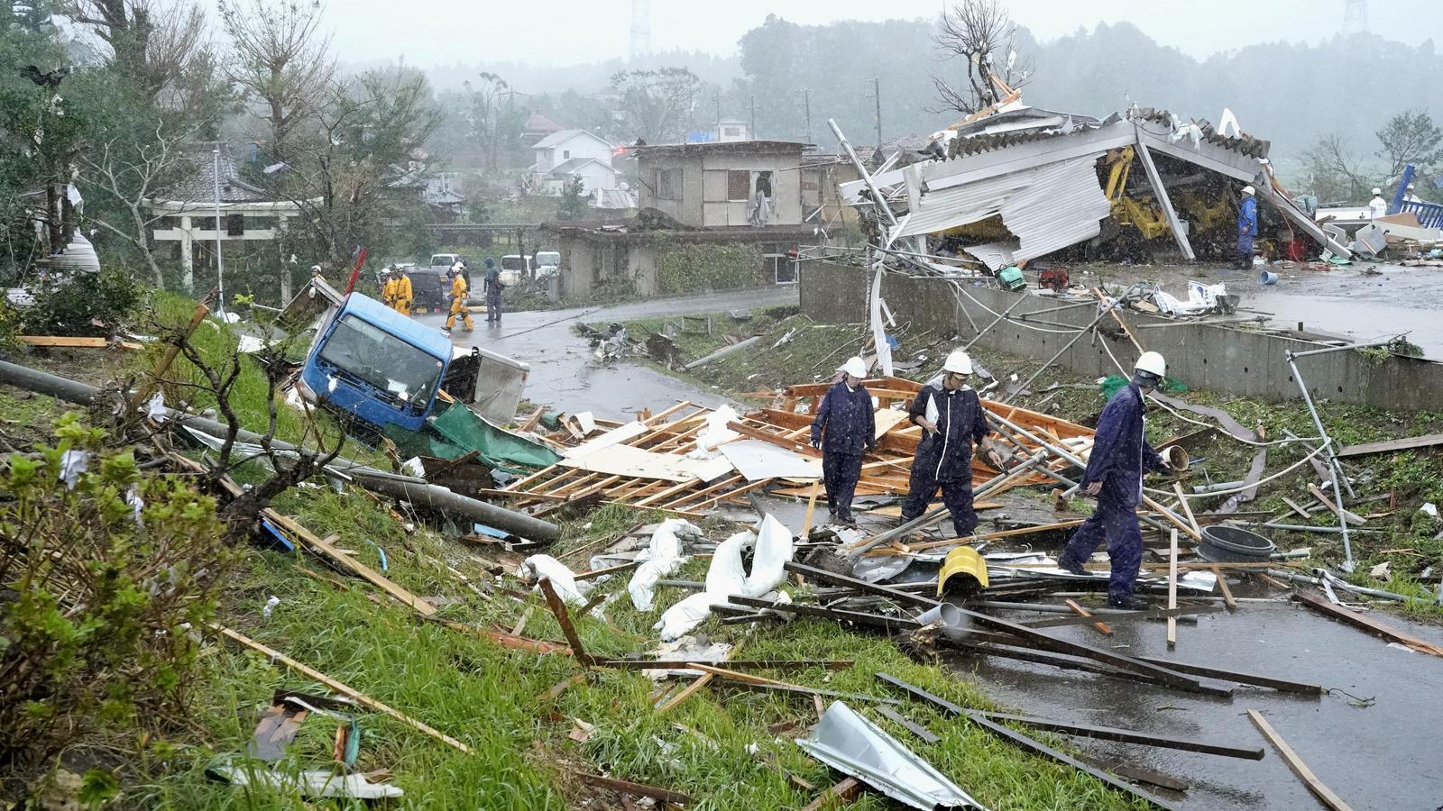 El tifó 'Hagibis' ja ha arribat al Japó