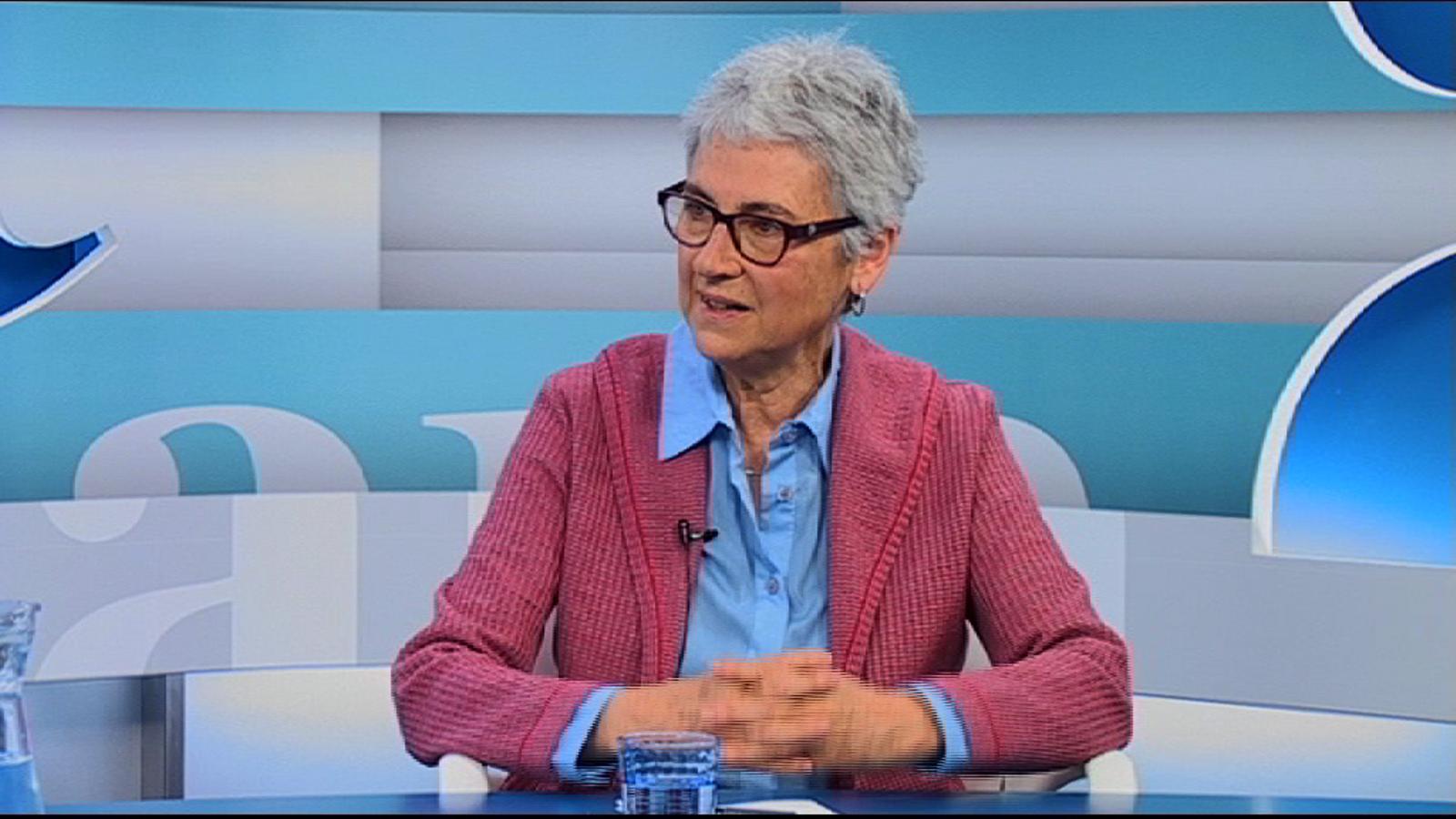Muriel Casals: En el pressupost actual d'Òmnium, la subvenció pública té un pes cada vegada més baix