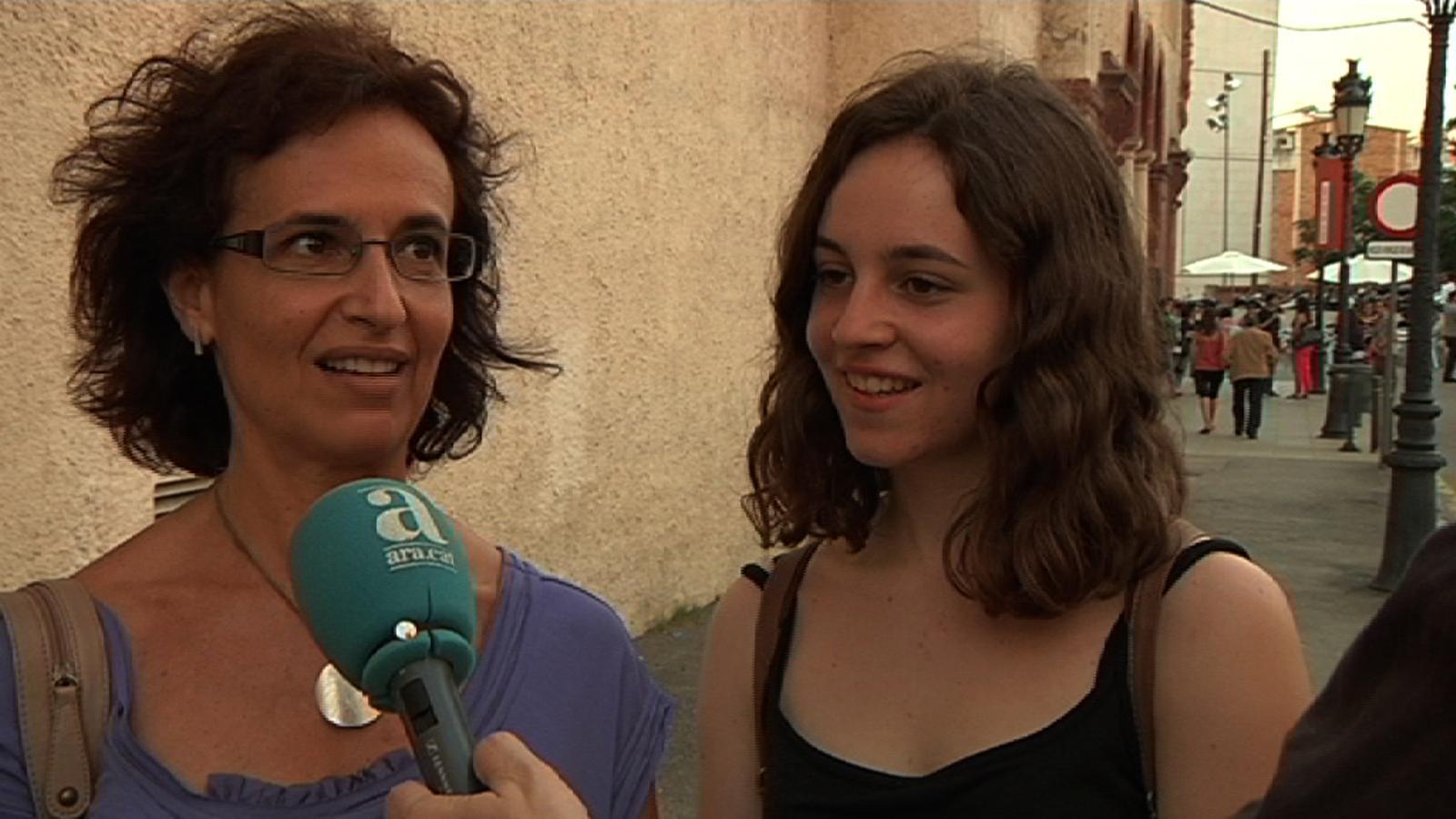 Elisenda Codina, espectadora del Grec: La mare proposa i jo dic: 'Vale'!
