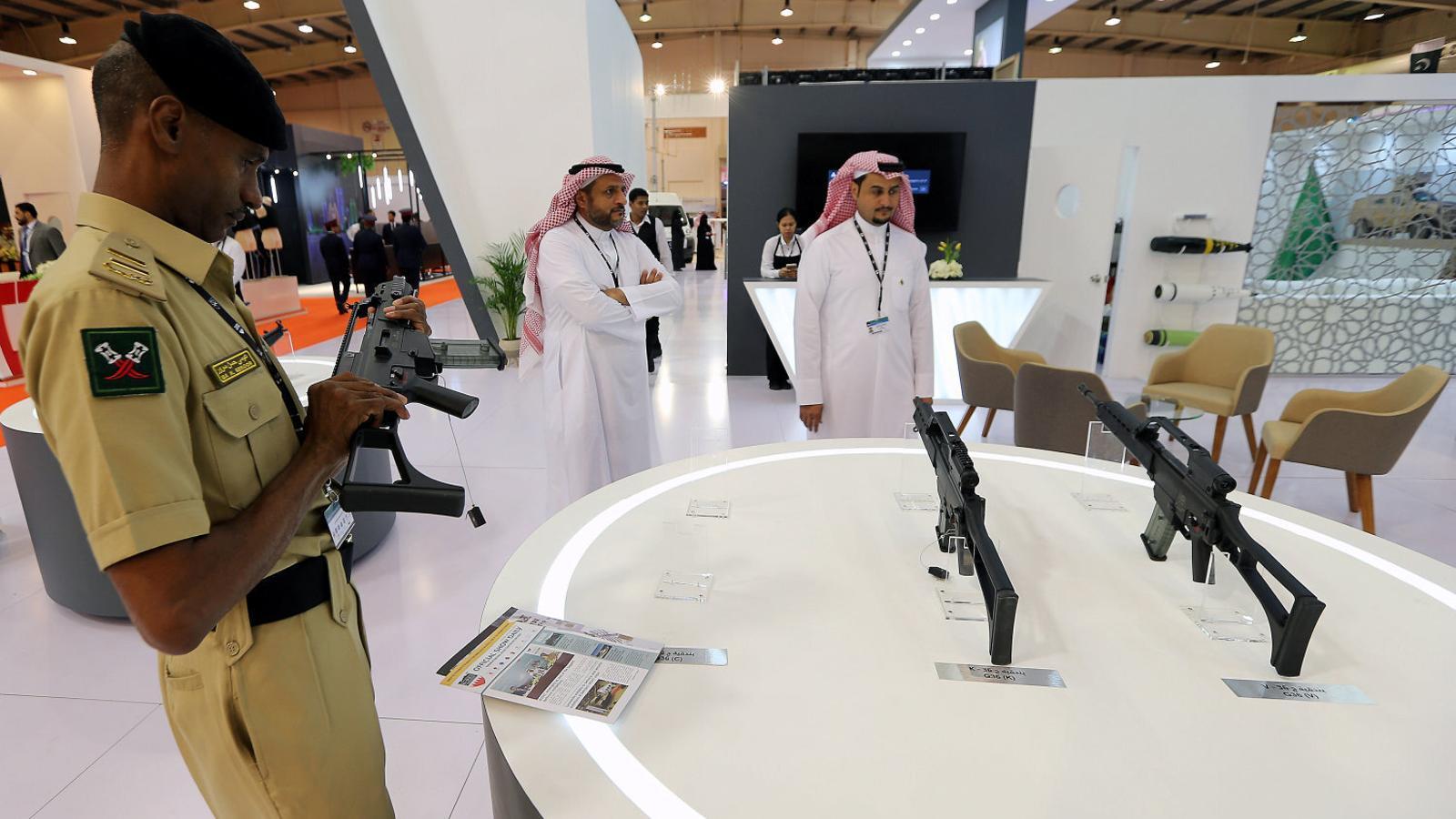 L'exportació d'armes a l'Aràbia Saudita, un negoci sota sospita