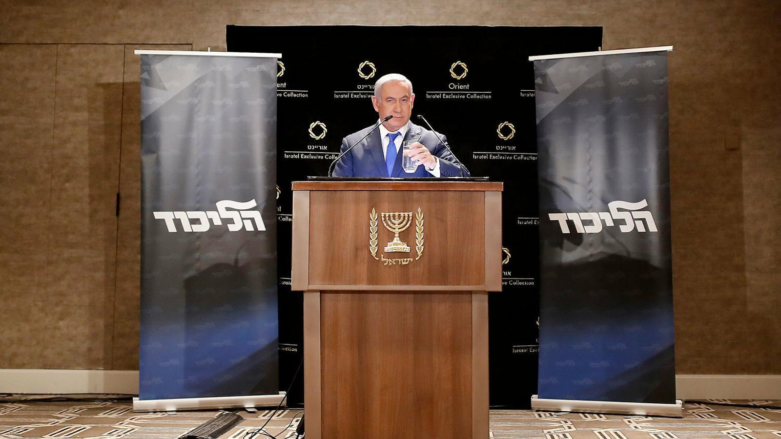 Netanyahu es prepara per guanyar les eleccions del setembre