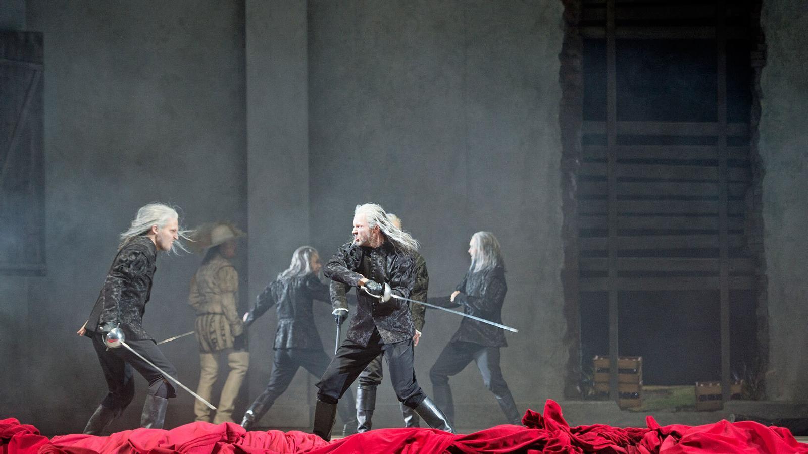 Un moment de l'òpera Don Giovanni