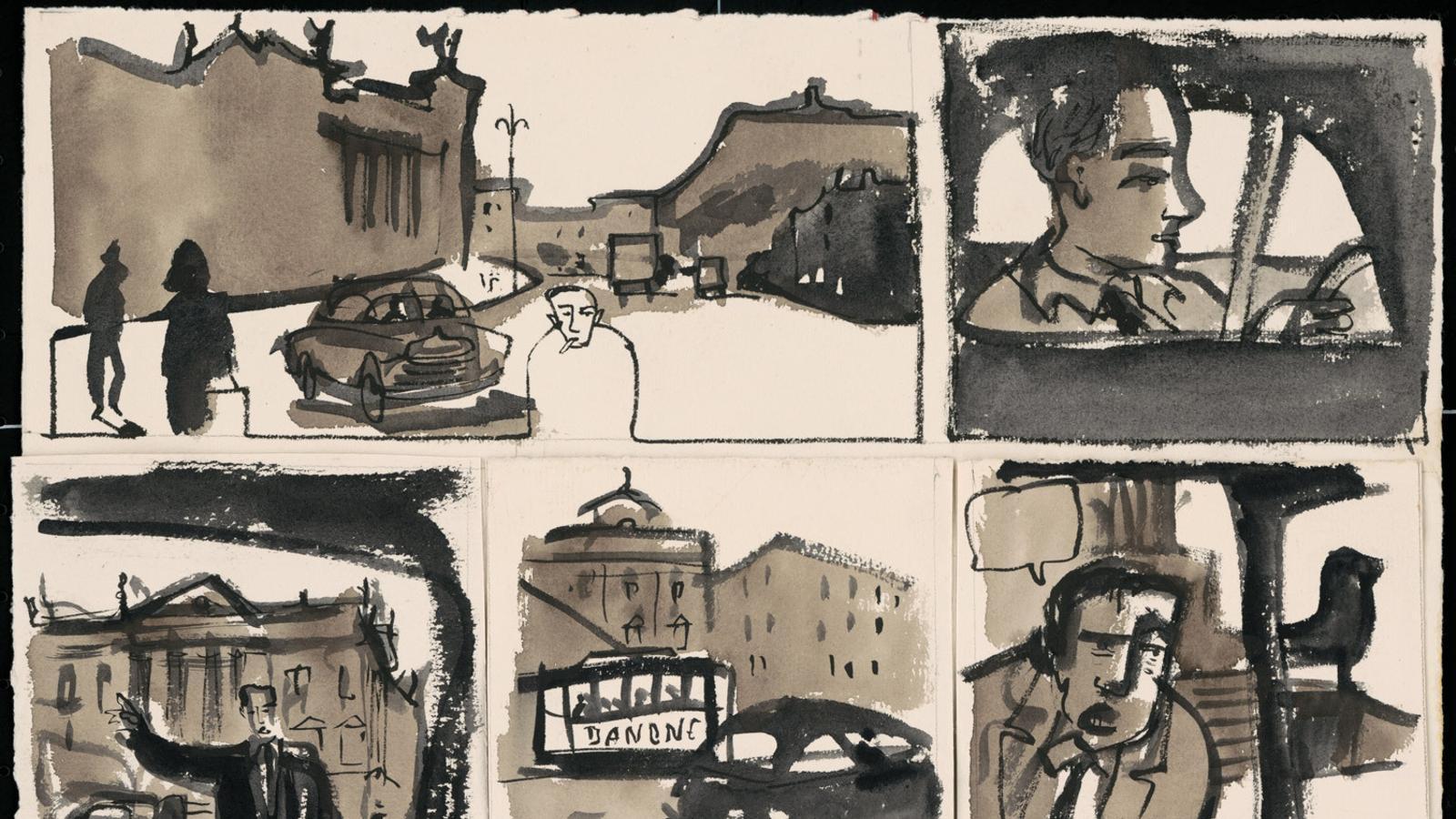 Javier Montesol a Gràfica Radiant: 'Crim no resolt a la Via Laietana'