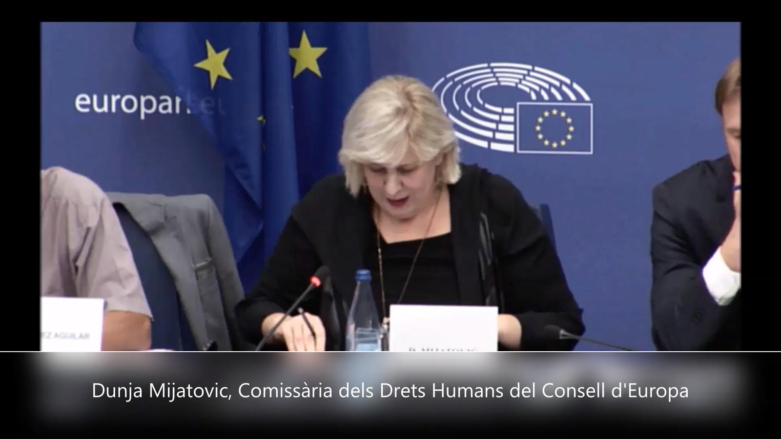 La Comissària dels Drets Humans del Consell d'Europa sobre Catalunya