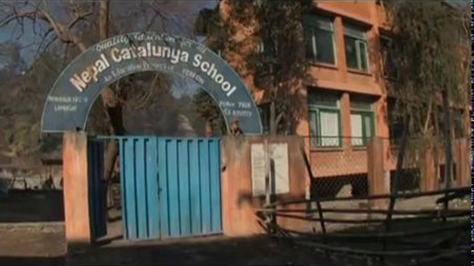 Visita a la 'Nepal Catalunya School'