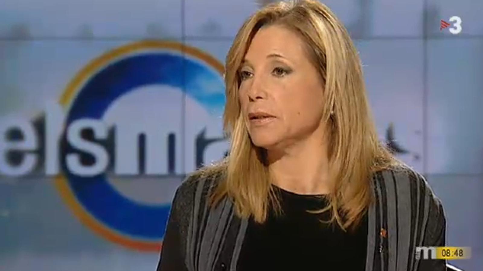 """Joana Ortega assegura que els treballadors públics saben que han de fer un esforç, i saben que poden fer-lo"""""""