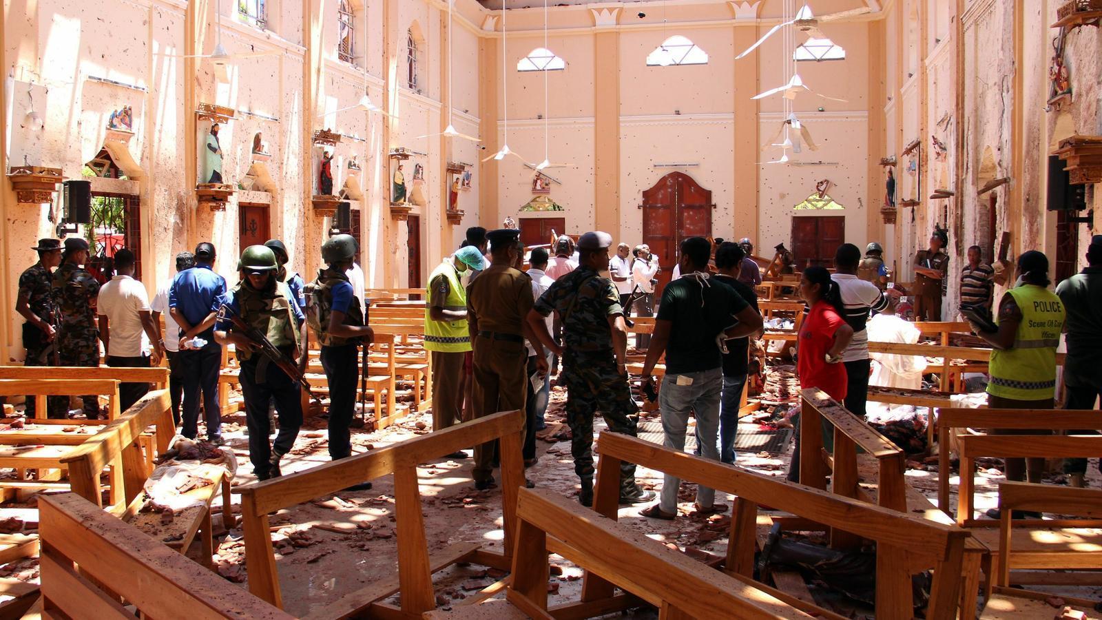 Massacre a Sri Lanka en vuit atacs contra esglésies i hotels
