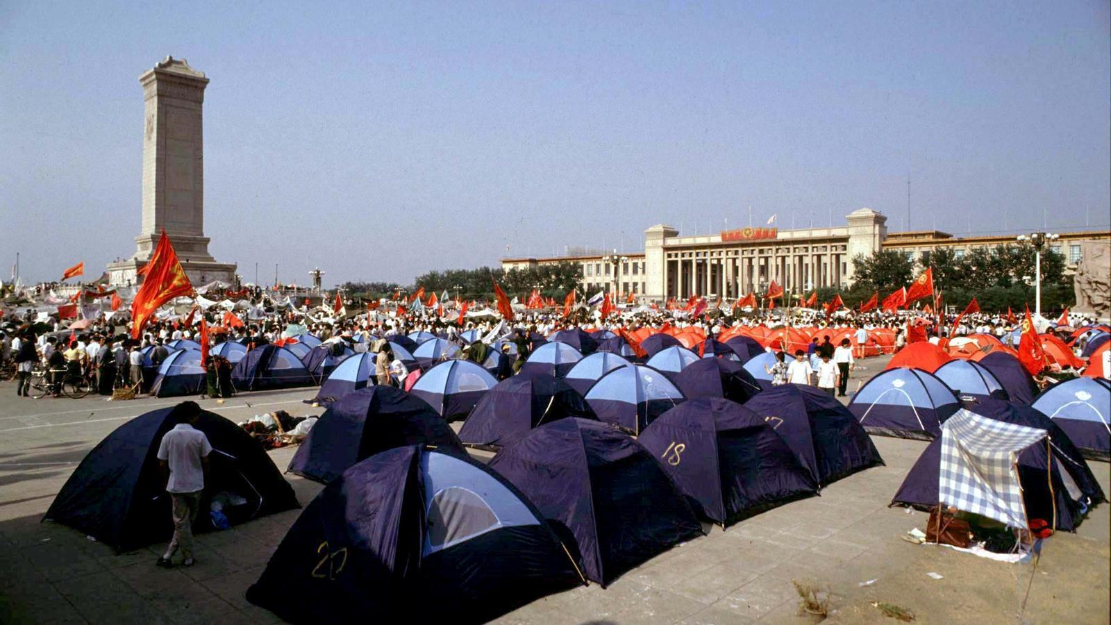 La Xina augmenta la repressió en el 30è aniversari de la revolta de Tiananmen