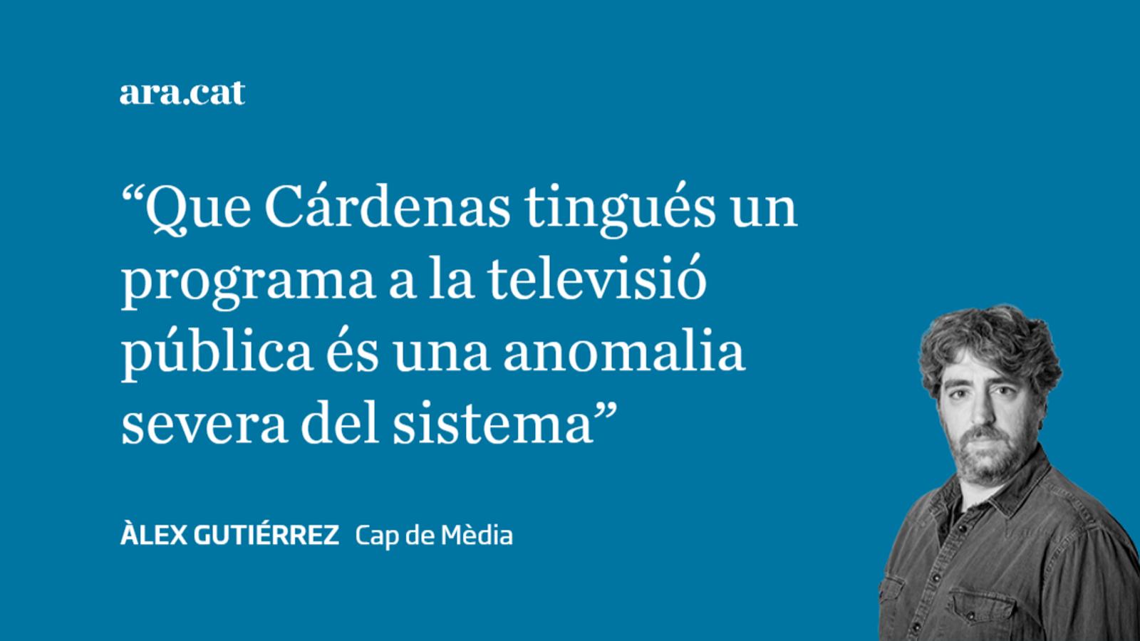 Cárdenas convertit en un personatge de Cárdenas