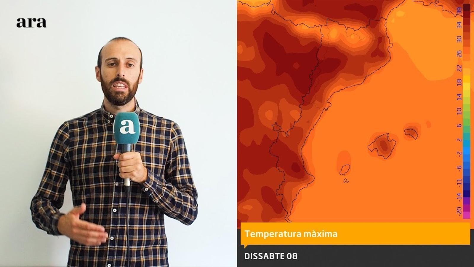 La méteo: arrenquen tres dies d'intensa onada de calor i temperatures extremes