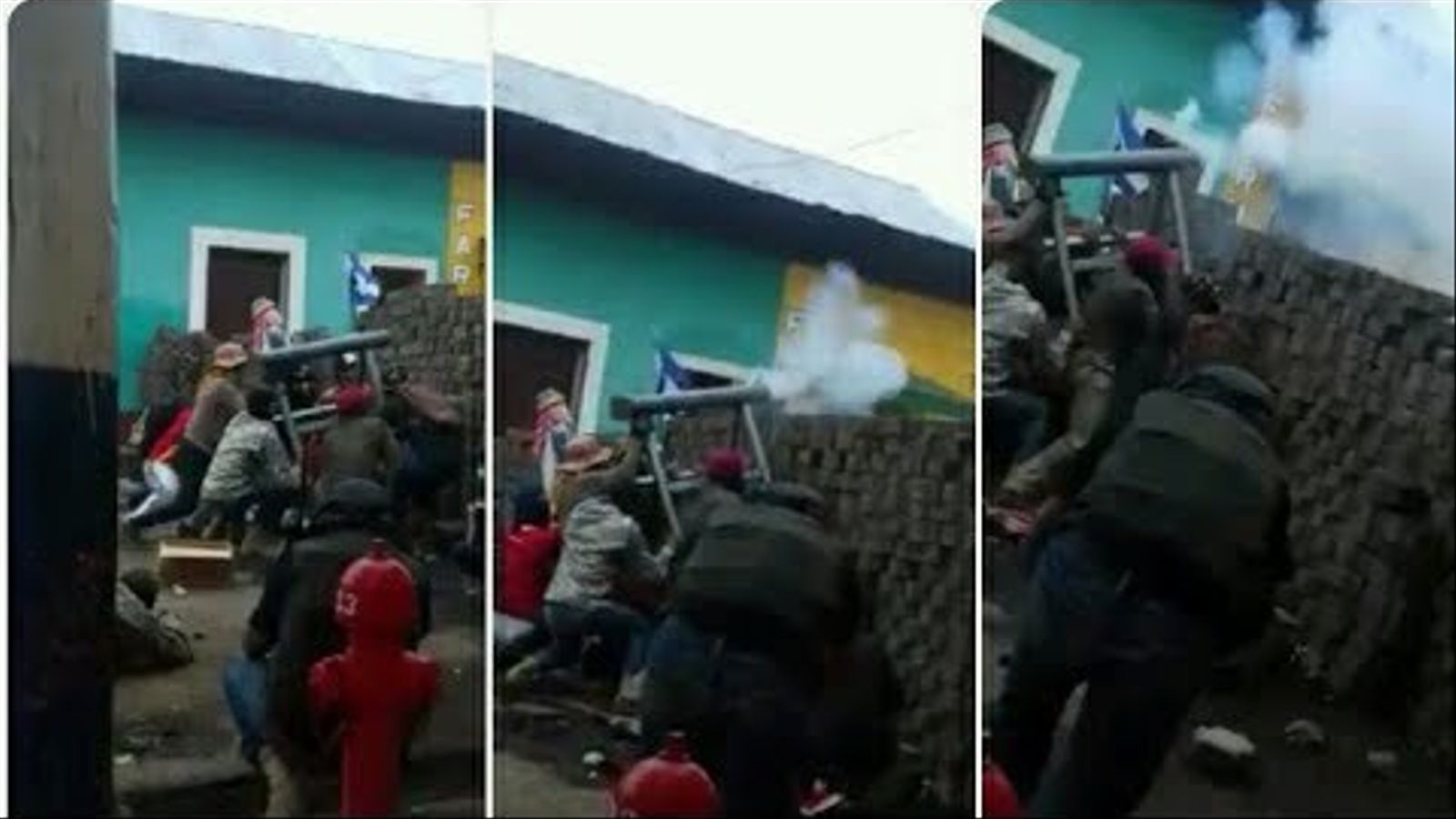 atac a Masaya, Nicaragua per part del govern de Daniel Ortega