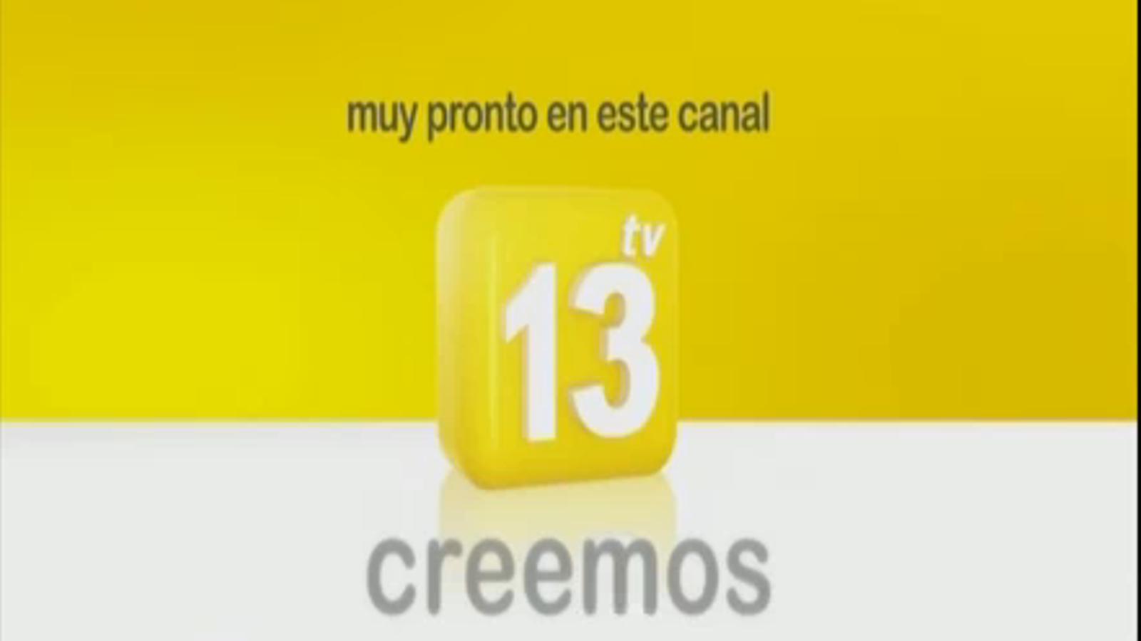 Vídeo de presentació de 13 TV