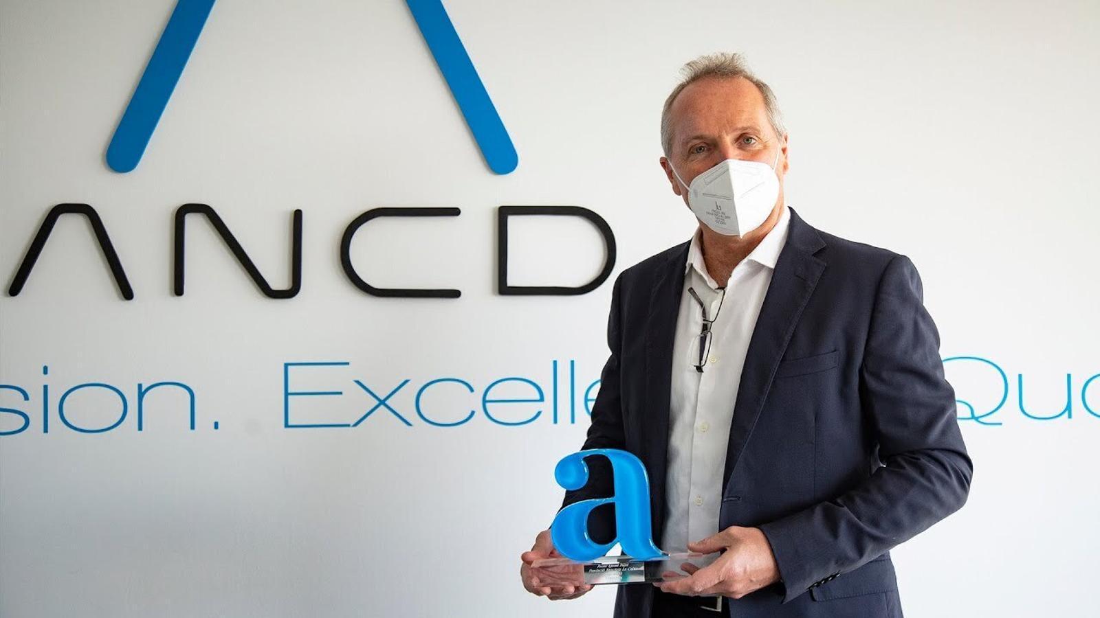 L'empresa Anaconda guanya el premi Ignasi Pujol 2020