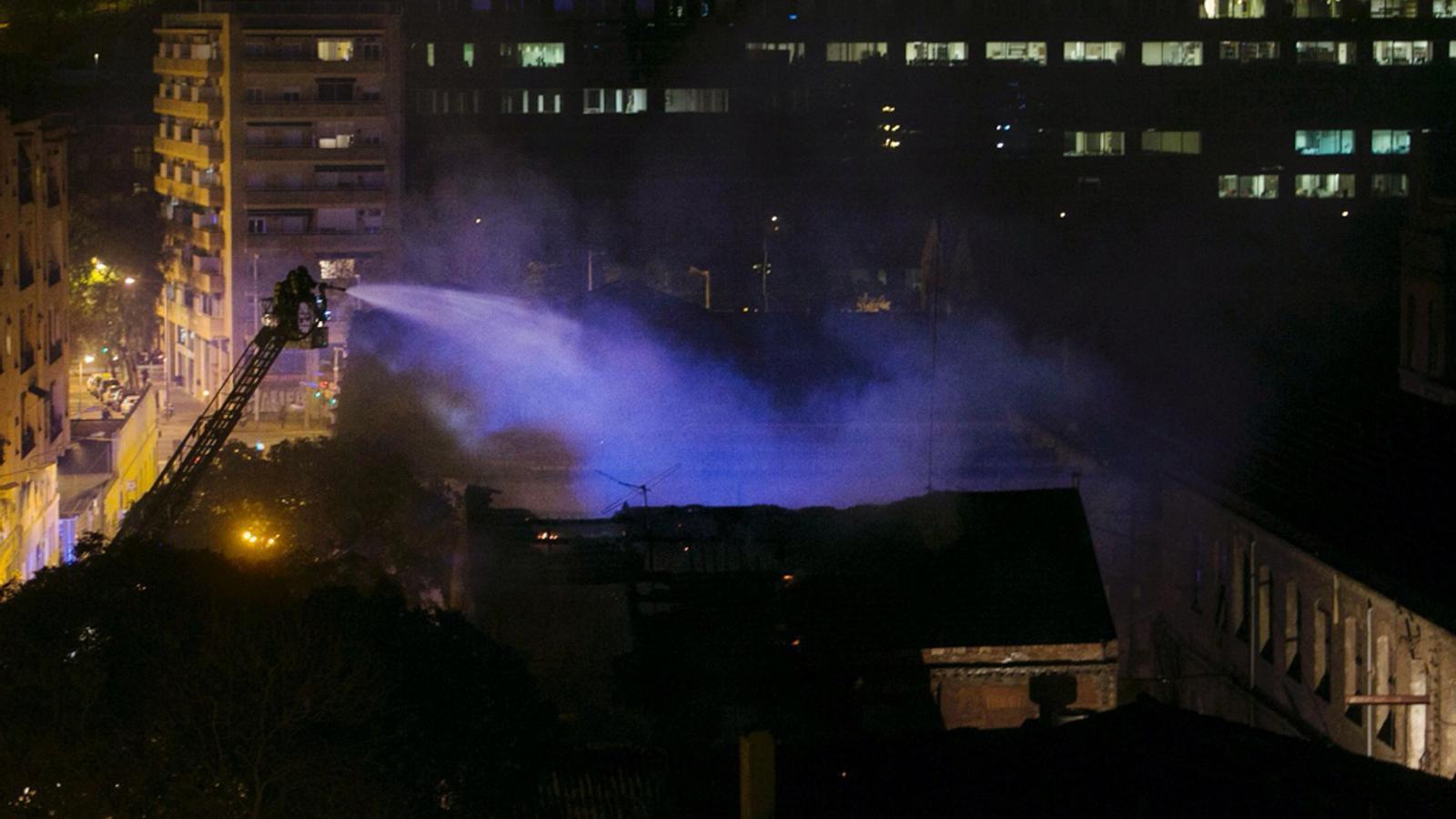 Incendi a Can Batlló