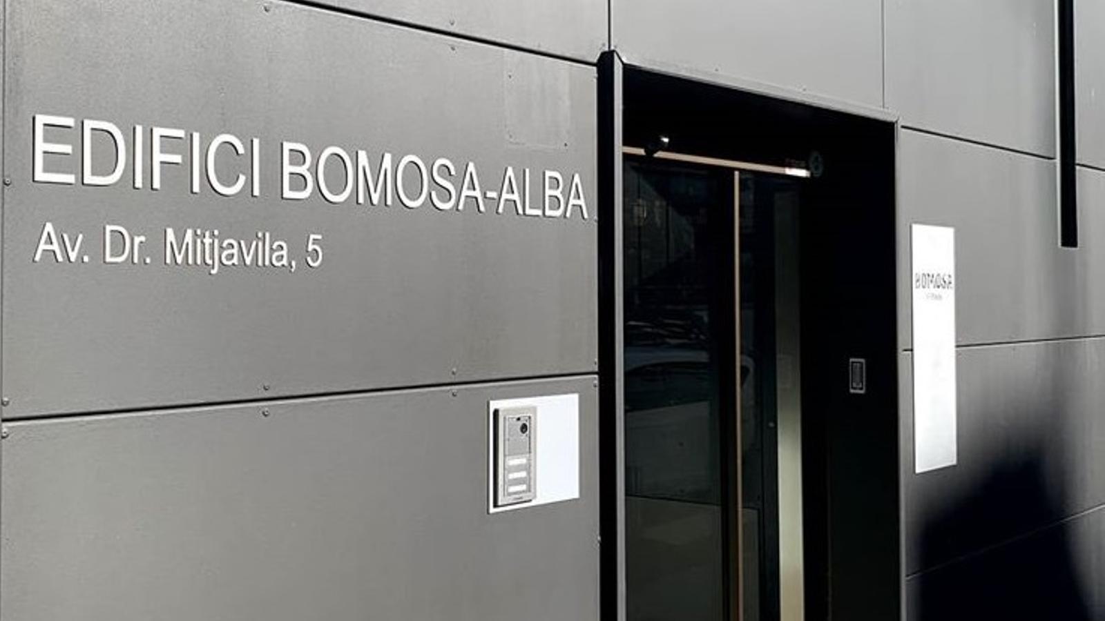 L'edifici de Bomosa a Andorra la Vella. / BOMOSA