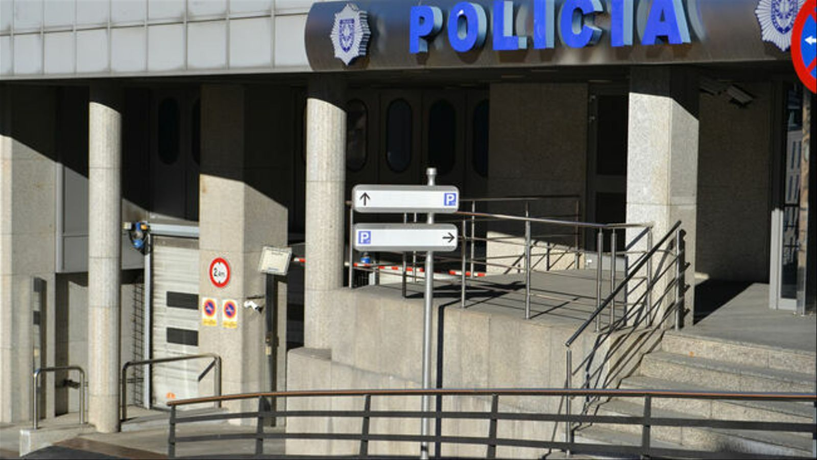 Edifici de la policia. / ARXIU
