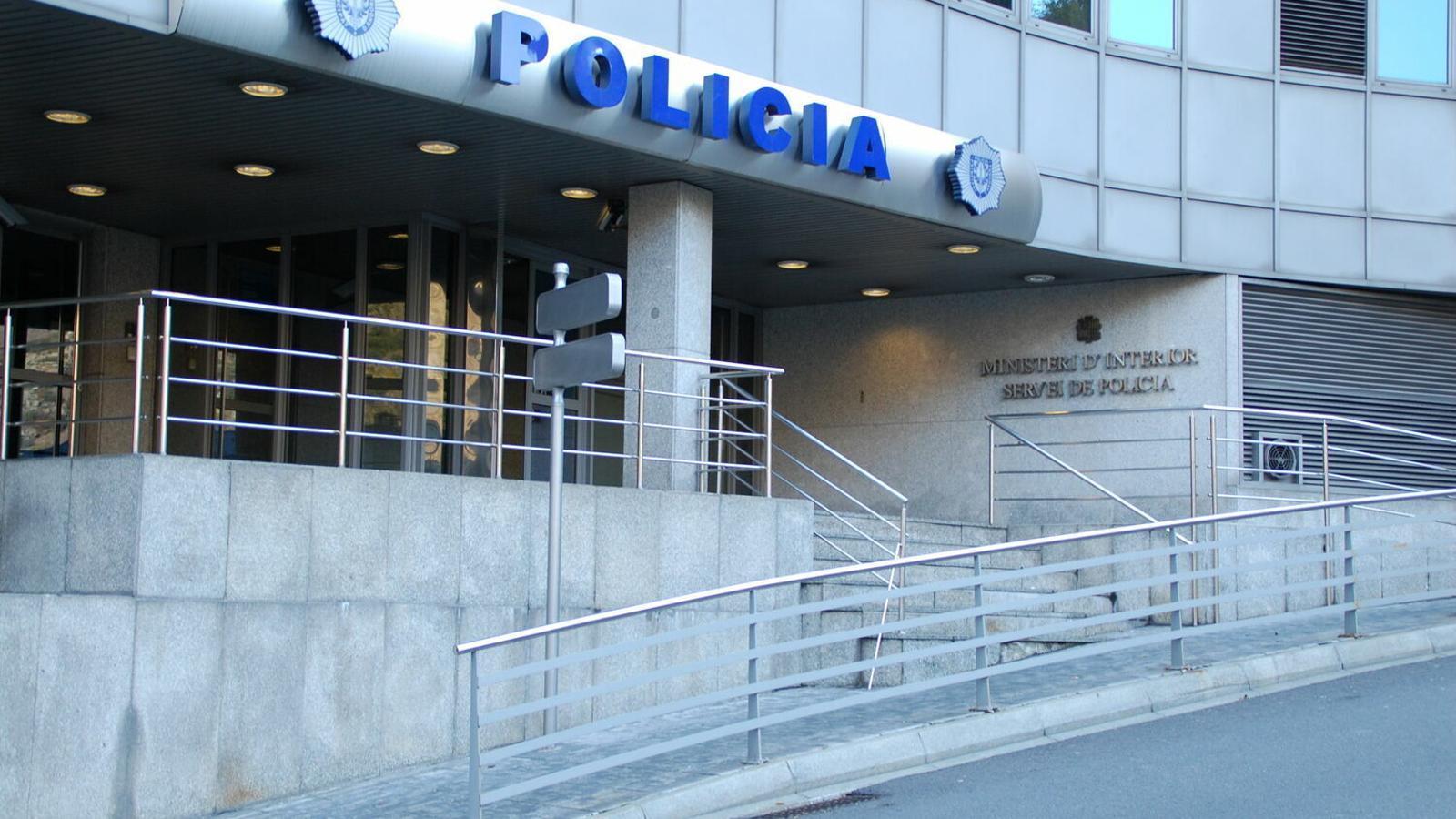 Un detingut a Escaldes-Engordany en un accident, per superar l'índex d'alcoholèmia permès. / ARXIU ANA