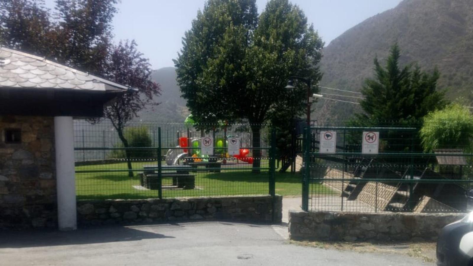 Parc infantil del Prat Gran de Sant Julià de Lòria. / ANA