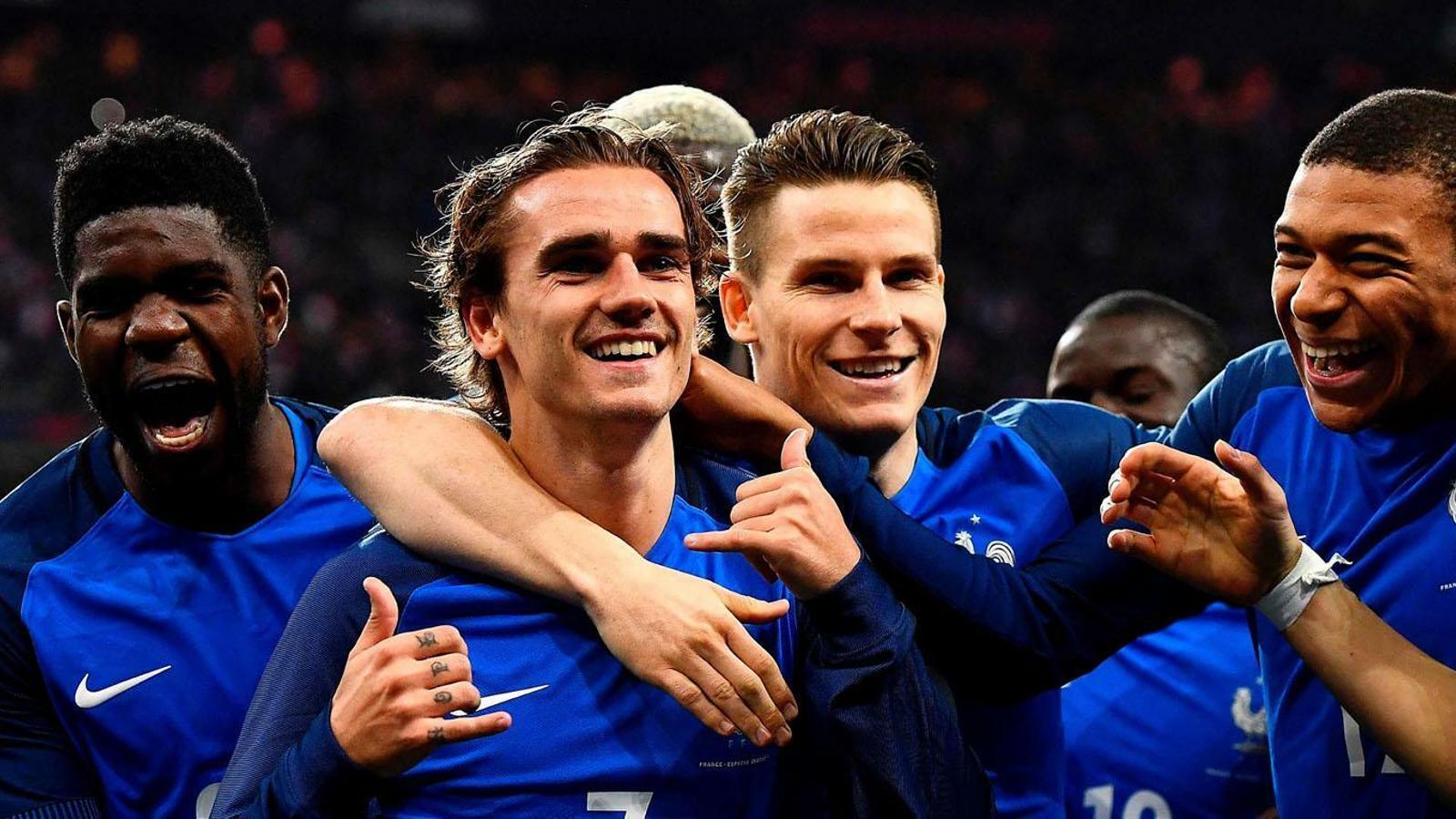 La selecció francesa al Mundial de Rússia. / ARA ANDORRA