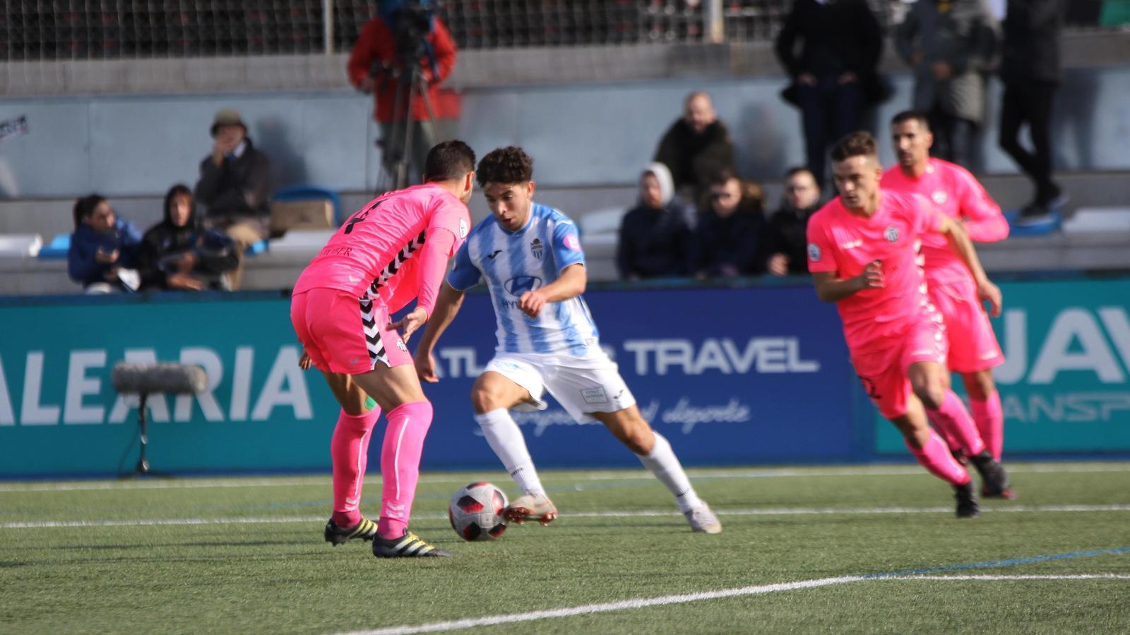 El Castelló frena a l'Atlètic Balears