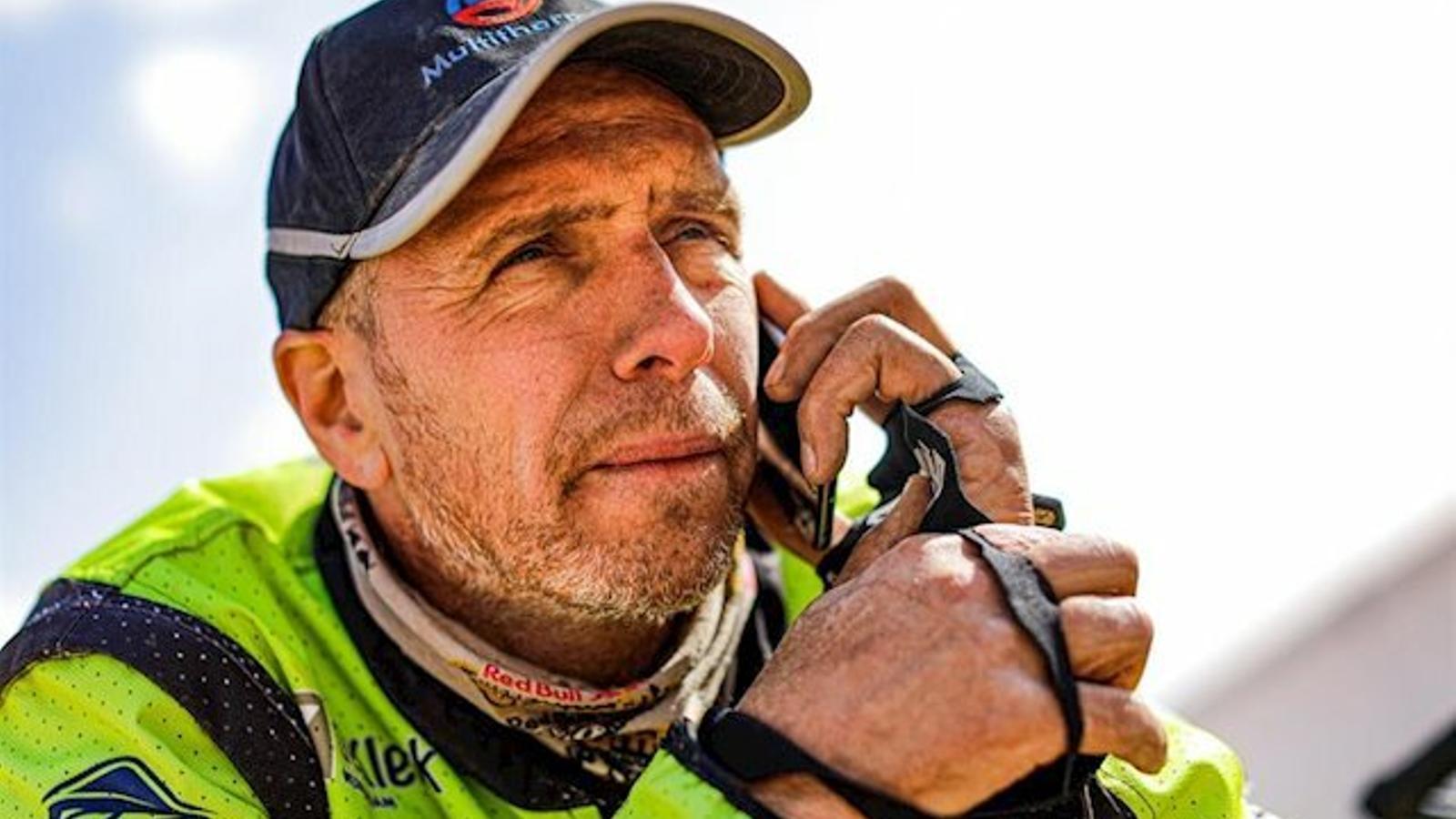 MorEdwinStarveren un accident al Dakar