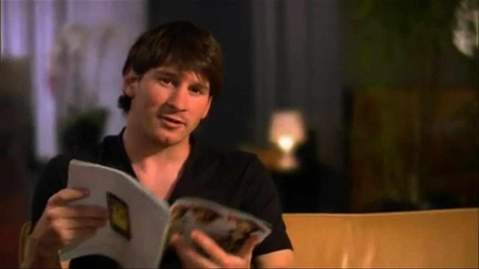 Messi, el futbolista que ven més