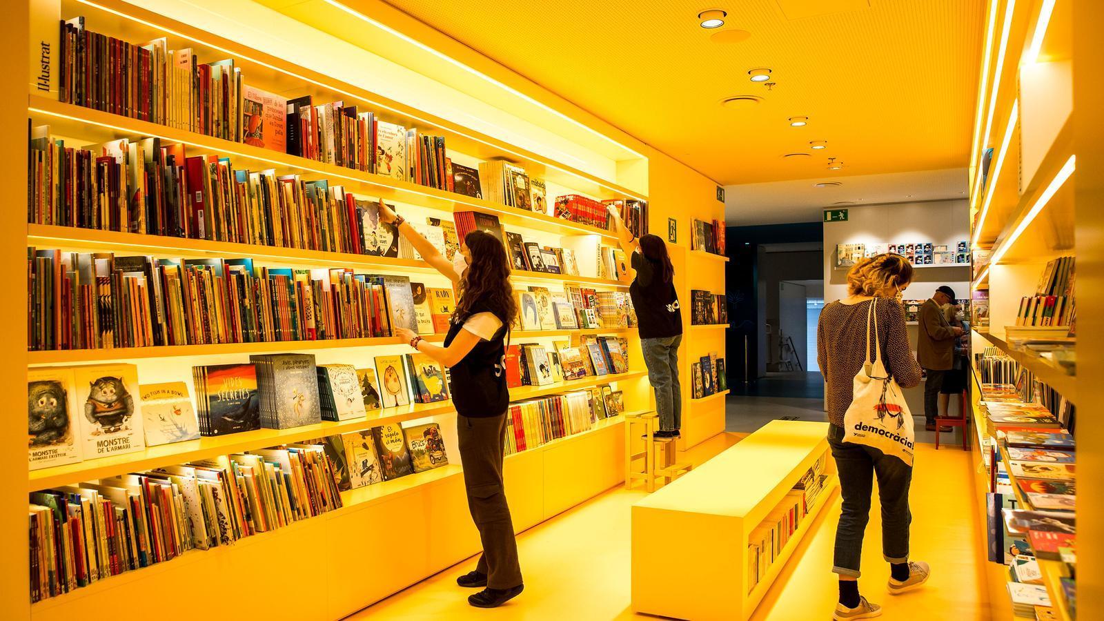 Obertura de la llibreria Ona
