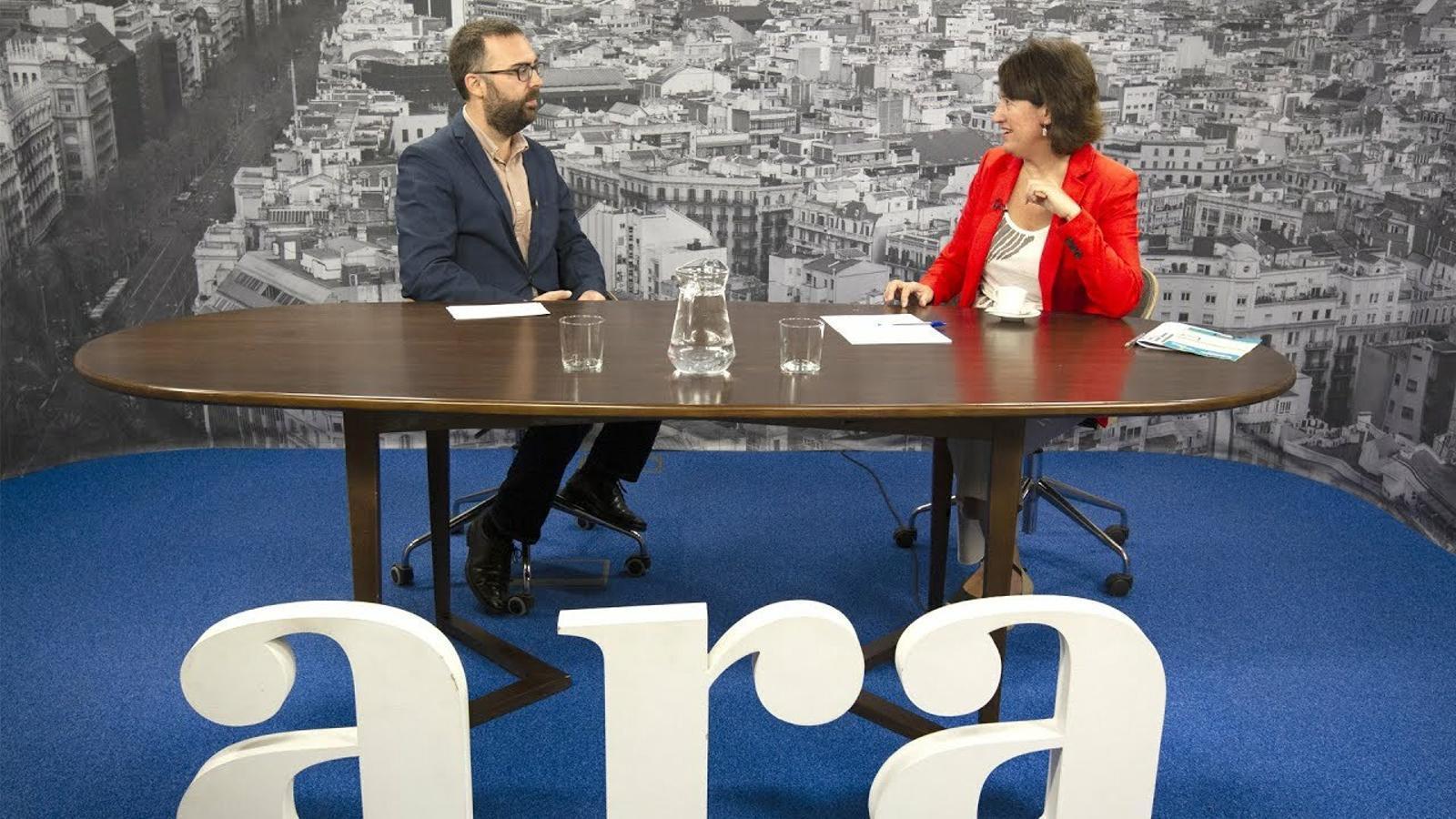 Entrevista d'Aleix Moldes a Elisenda Paluzie