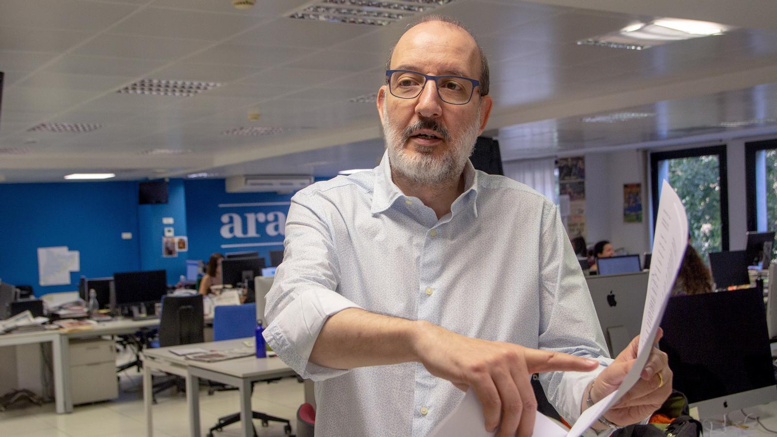 """L'anàlisi d'Antoni Bassas: """"Un any de l'1 d'Octubre, de la nostàlgia a l'impuls"""""""