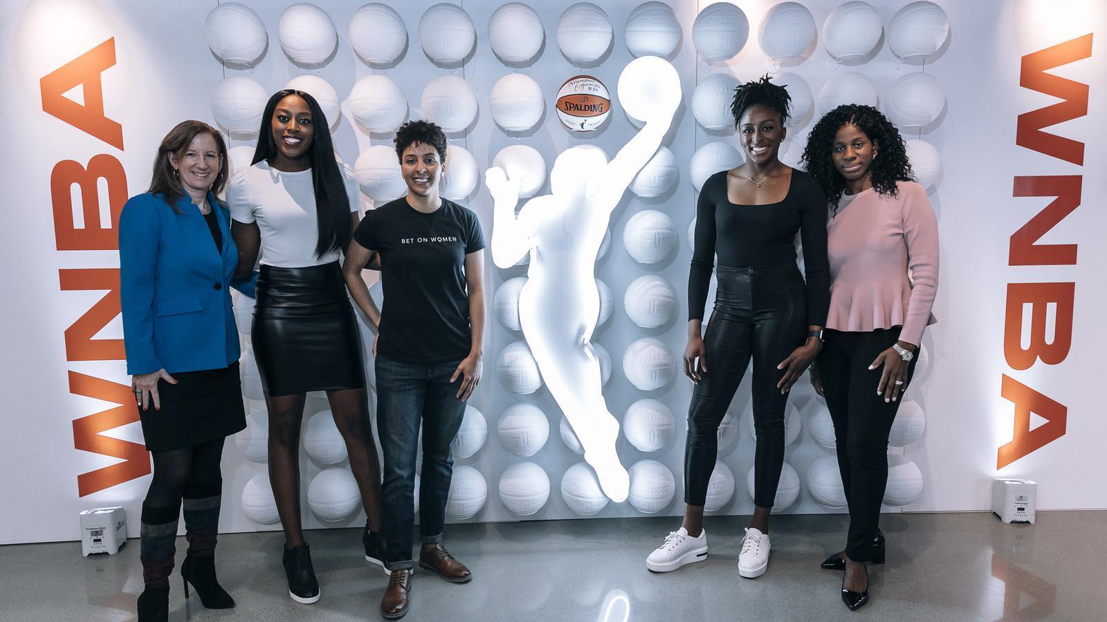 Representants de la WNBA i la WNBPA