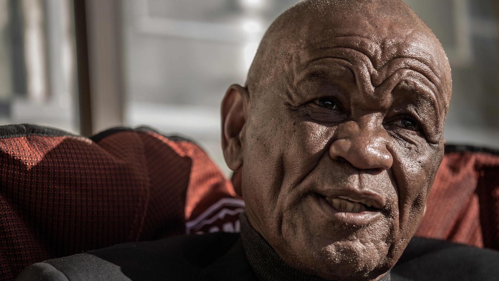 El primer ministre de Lesotho, Thomas Thabane, en una foto d'arxiu