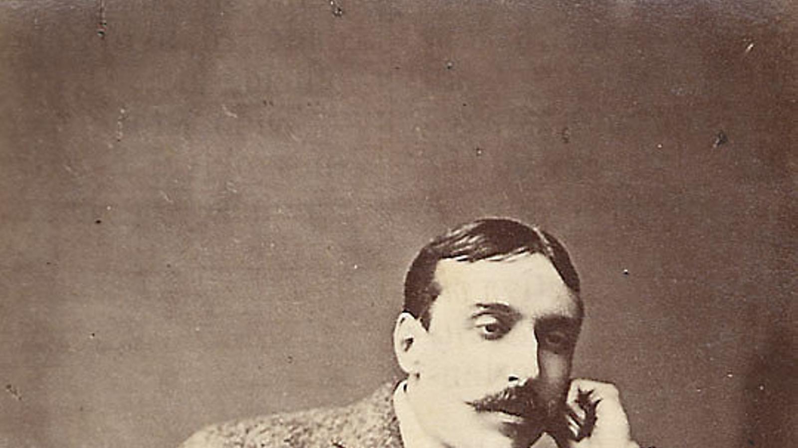 Retrat de l'escriptor realista portuguès José Maria Eça de Queiroz.