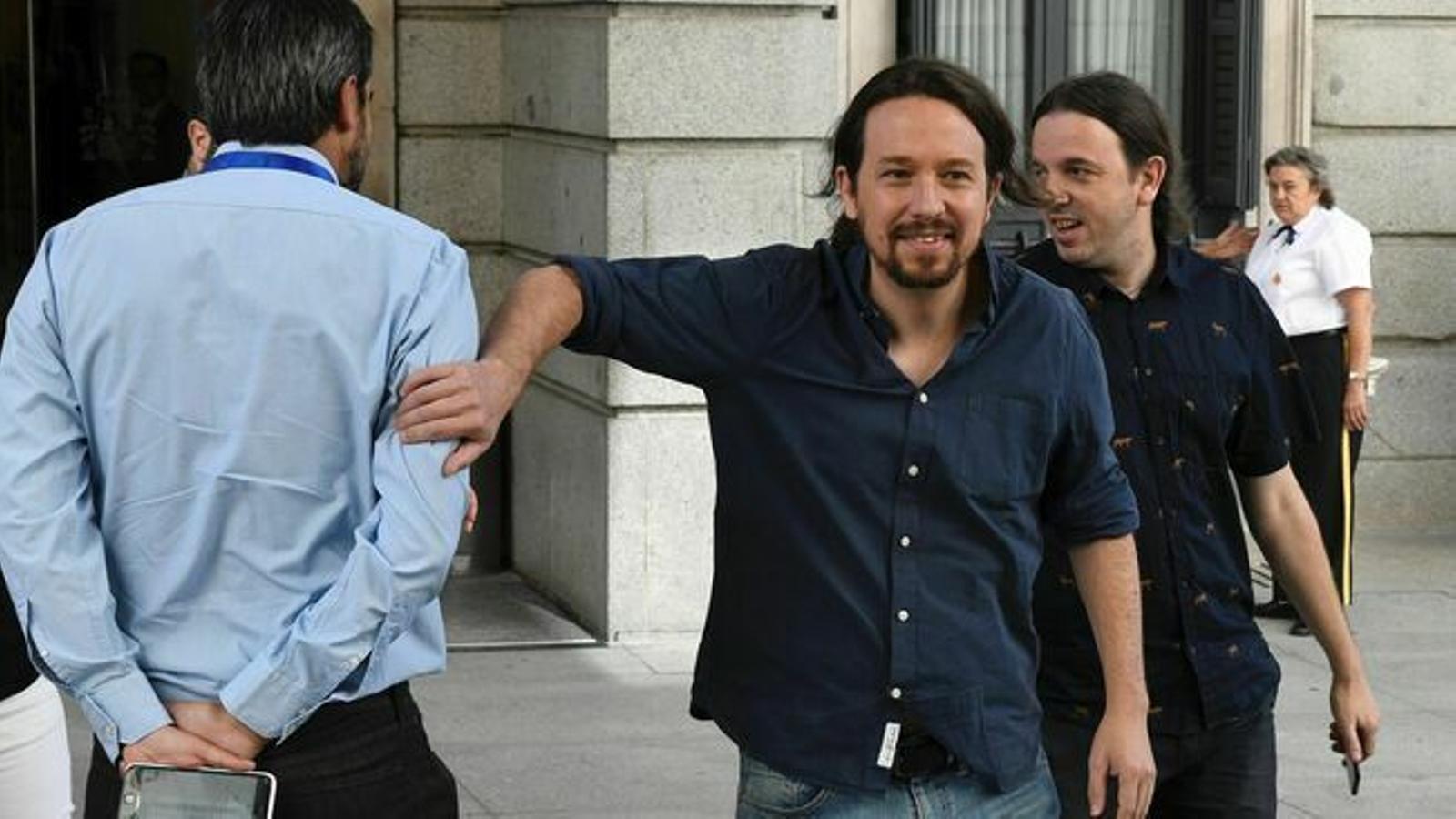 PSOE i Podem s'encallen després de 4 hores de reunió
