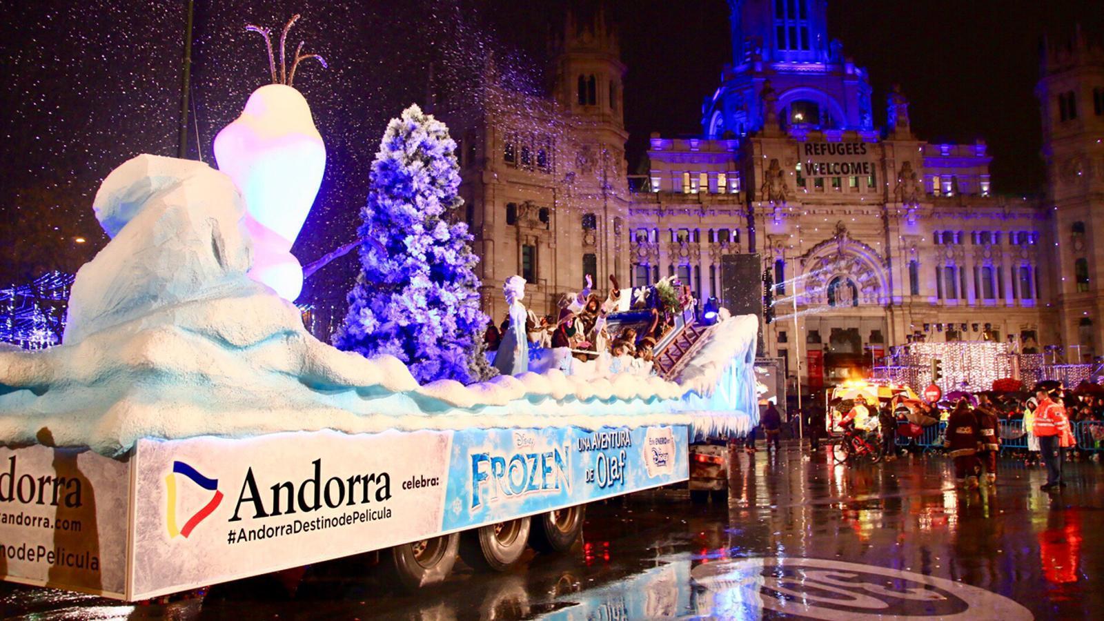 Una carrossa d'Andorra Turisme. / ANA
