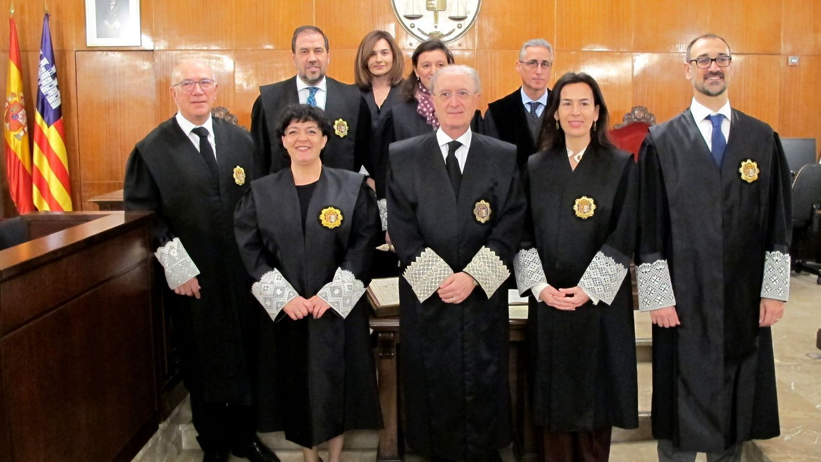Tres magistrats juren càrrec en el Tribunal Superior