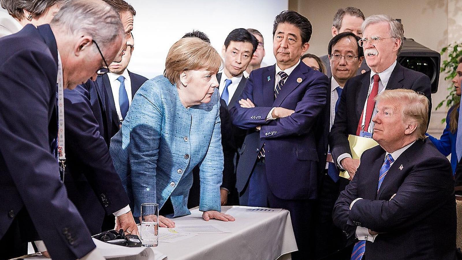 """Trump vol """"un G-7 sense aranzels ni barreres comercials"""""""