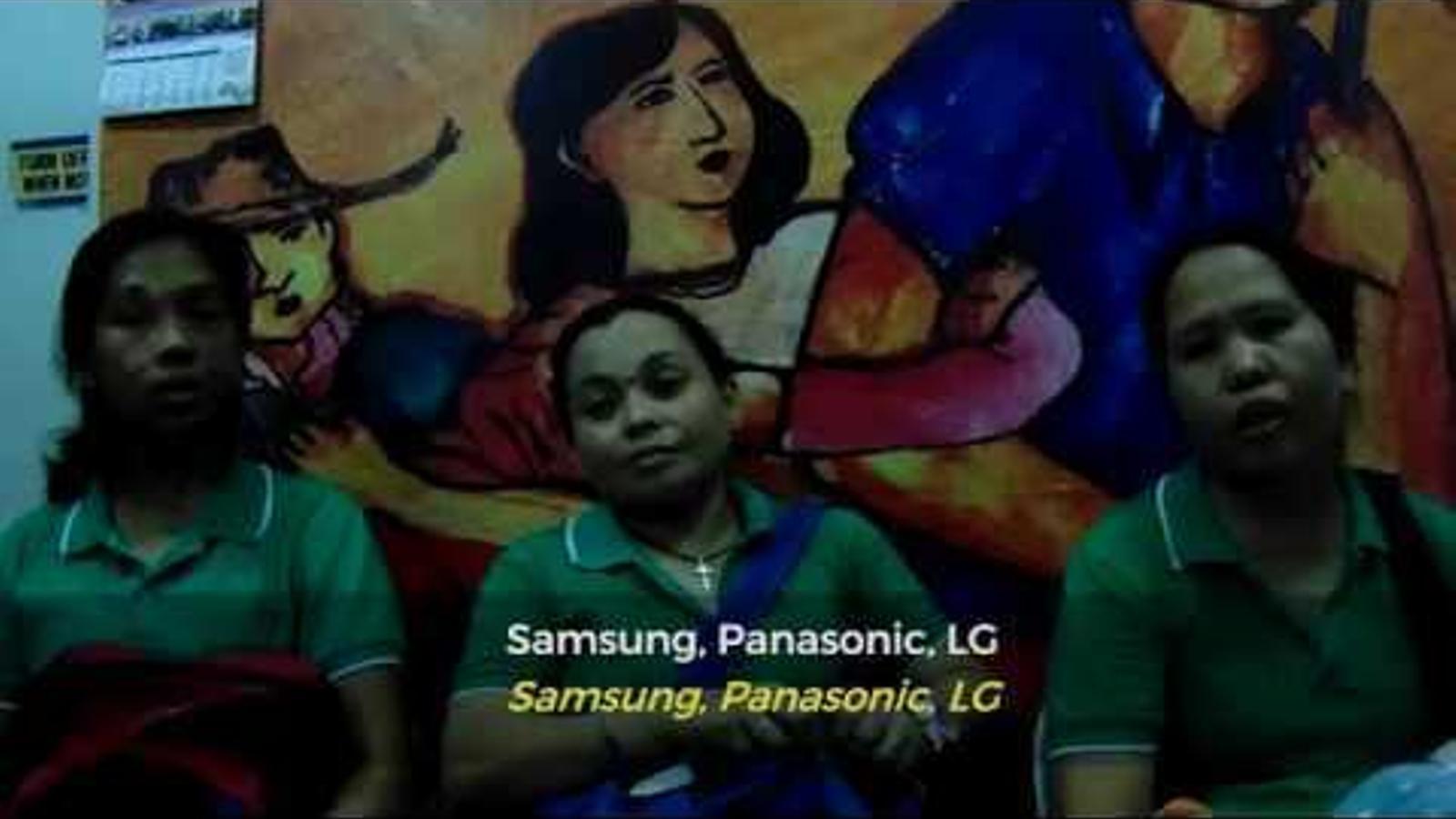 Tràiler del curt 'La veu dels treballadors' en què es detallen els abusos laborals en la producció tecnològica, a Filipines.