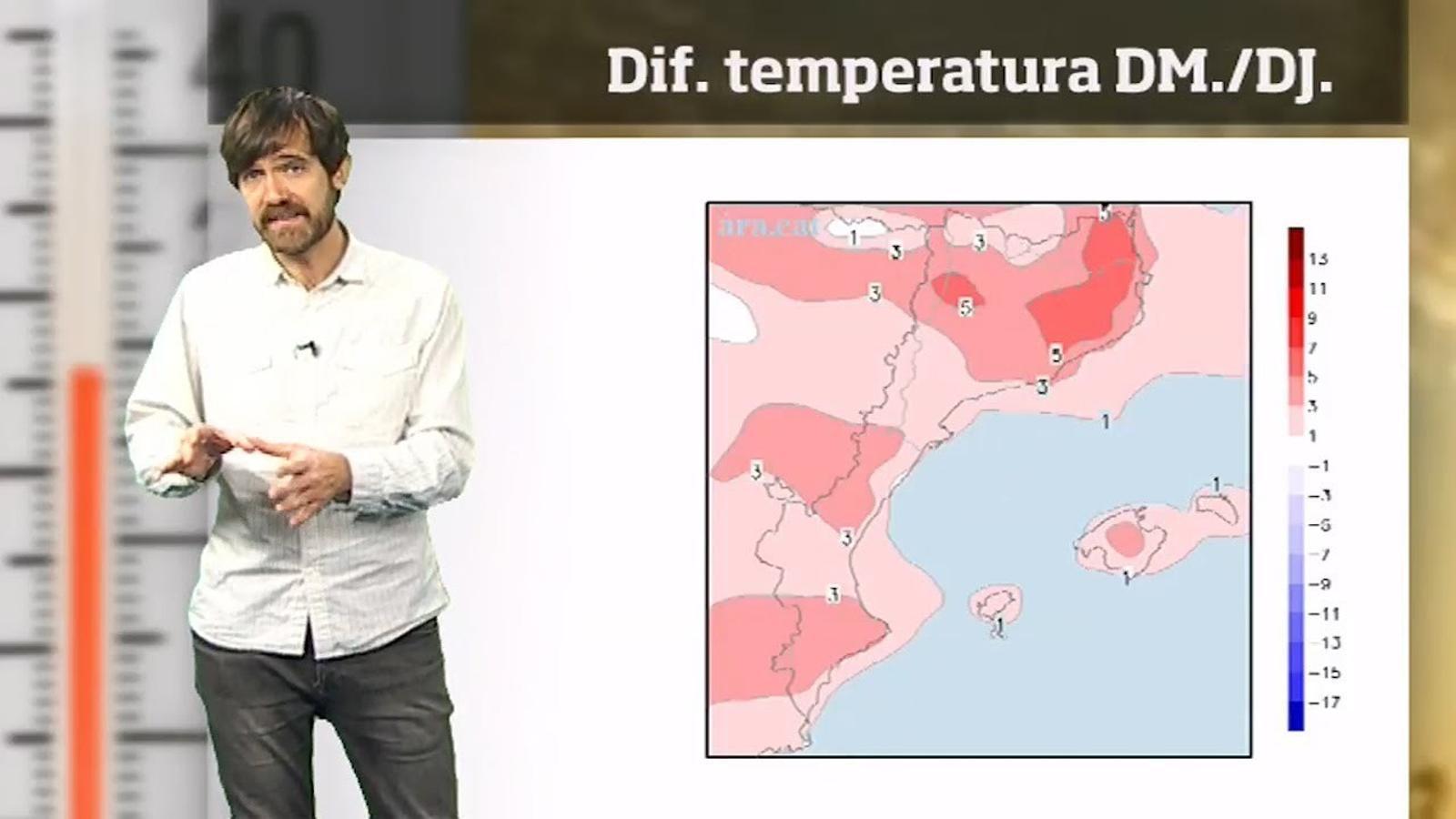 La méteo en 1 minut: migdies de fins a 20 graus abans de Reis