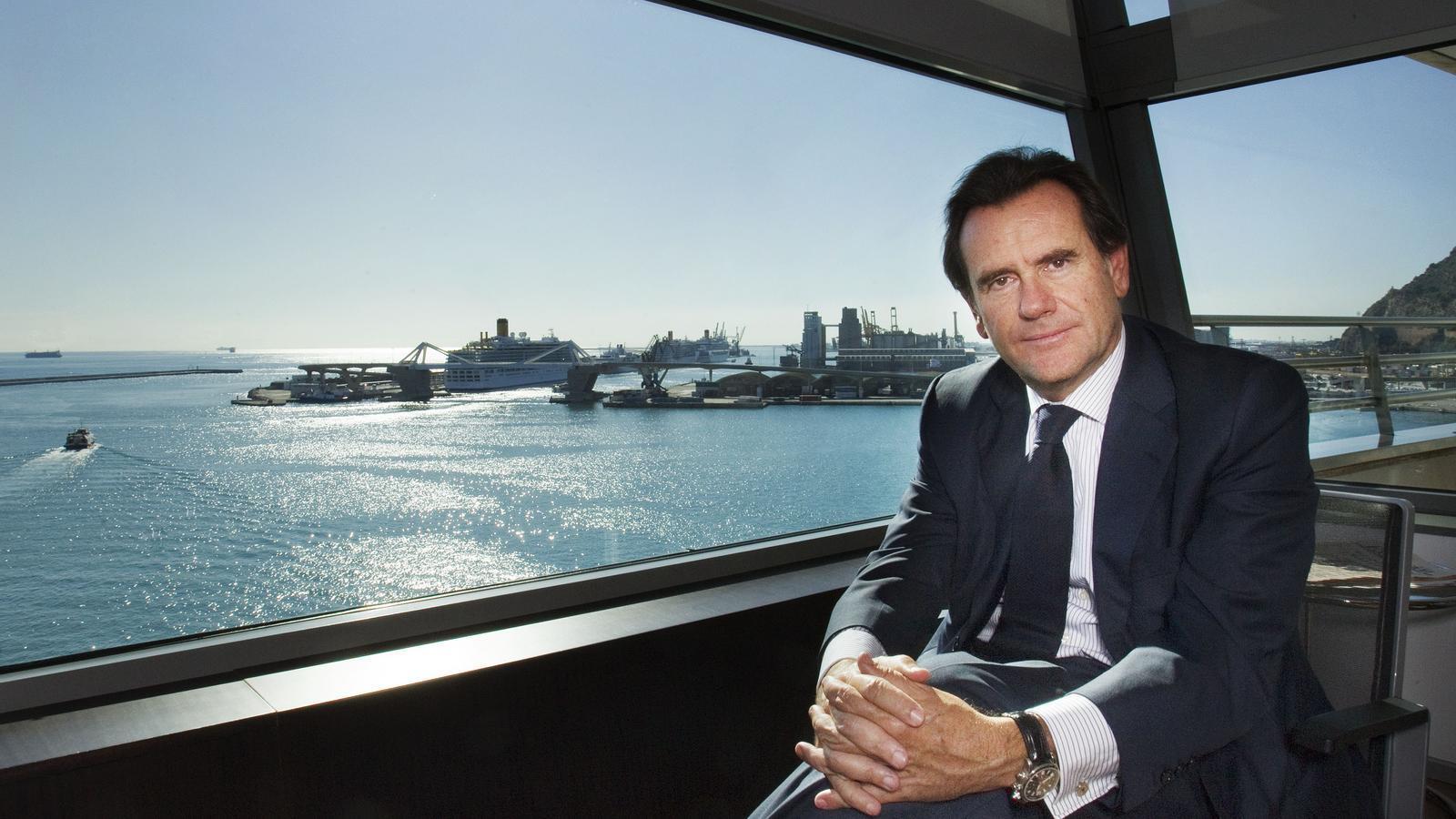 Sixte Cambra deixarà la presidència del Port de Barcelona