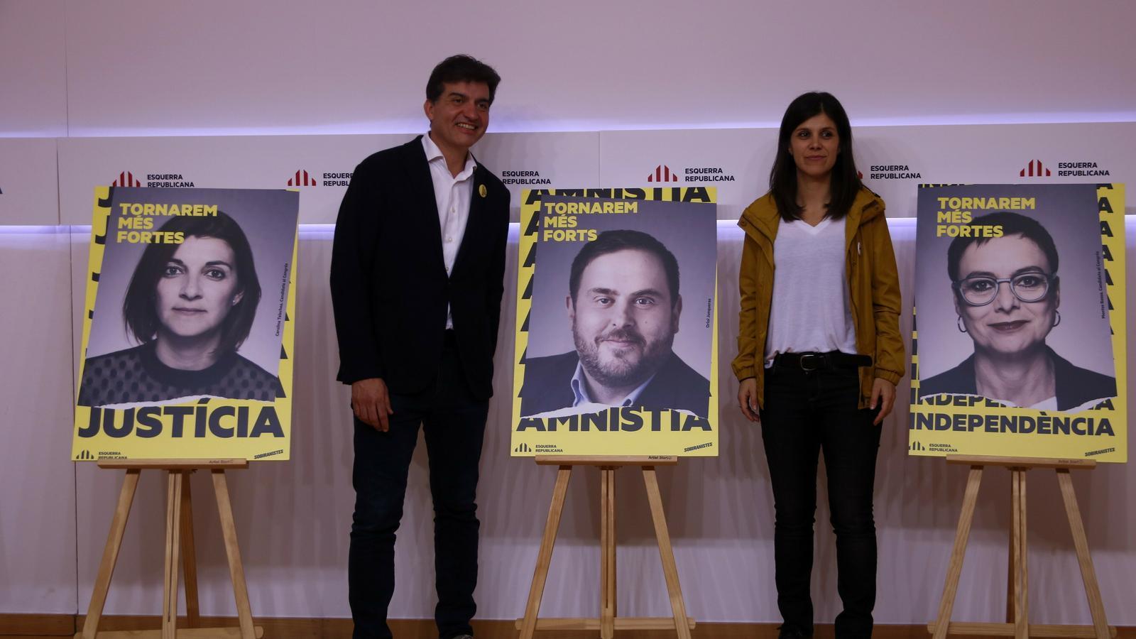 """El programa electoral d'ERC: """"Gran aliança"""" per l'amnistia i un referèndum amb """"mediació internacional"""""""