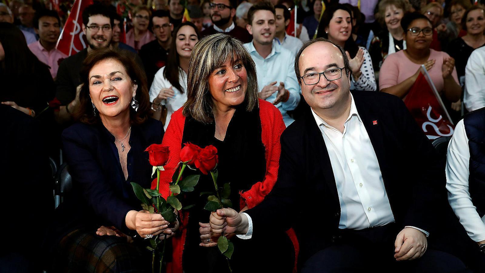 Iceta proposarà Marín i Granados com a presidenta i vice primera secretària del PSC