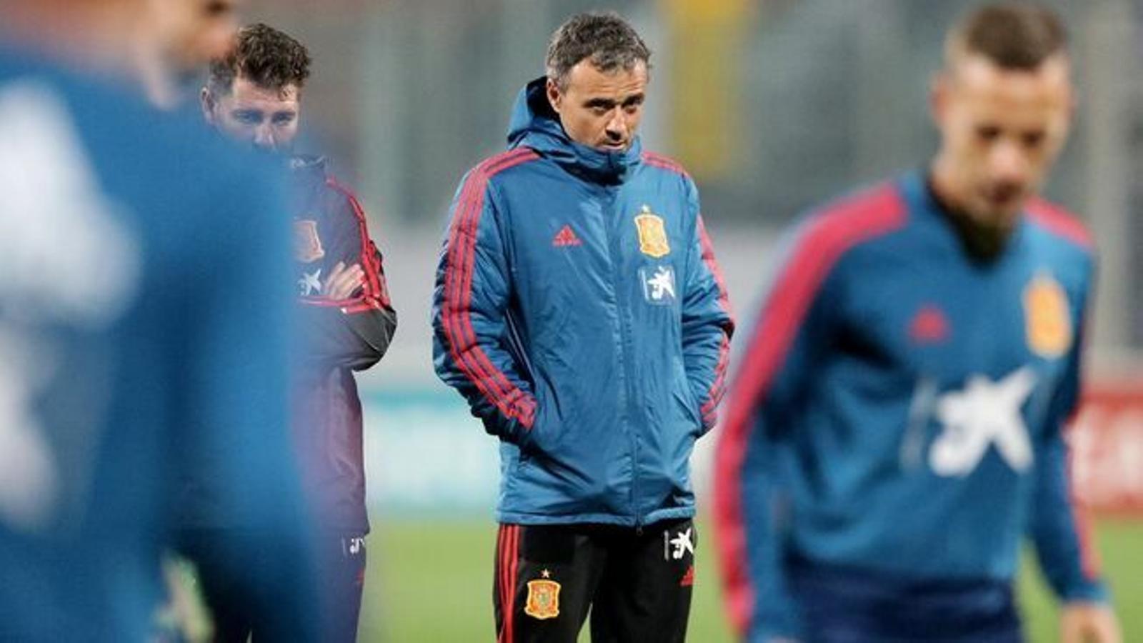Rubiales confirma que Luis Enrique torna a la selecció i nega haver falta al respecte a Robert Moreno